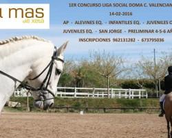 1Concurso Liga Social de Doma Comunitat Valenciana