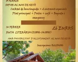 RUTA LITERARIA – CENA ESPECIAL ROMÁNTICA