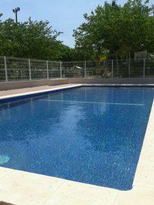 piscina campamento verano